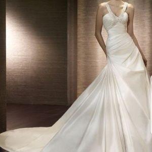 San Patrick Dresses - San Patrick wedding gown NWT size 12